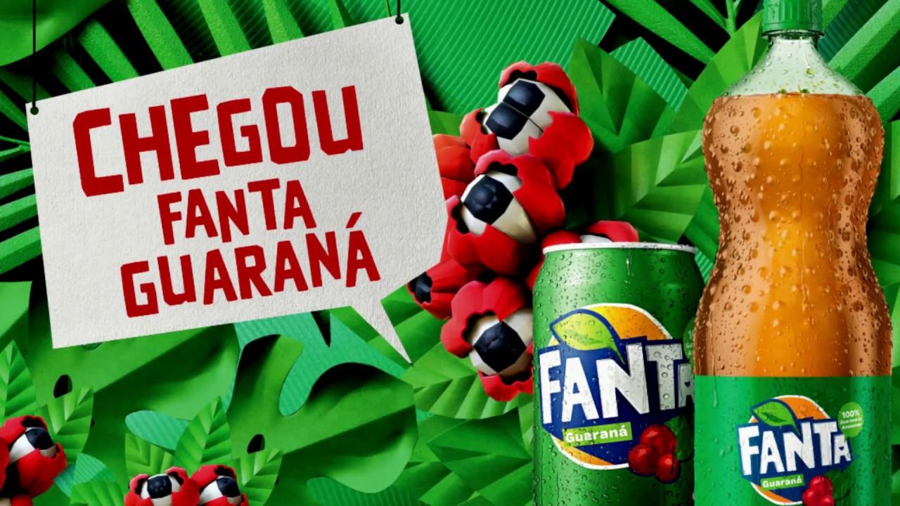 Coca lança novidade: Fanta Guaraná